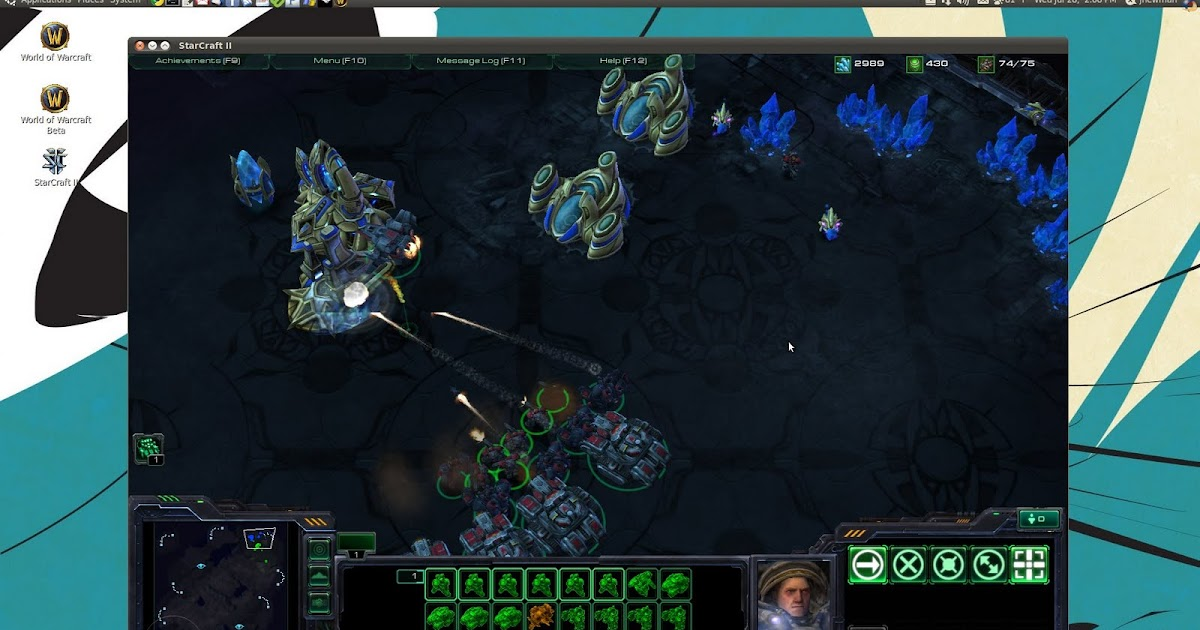 Thoughts on Technology: HOWTO: Starcraft 2 on Linux with Wine