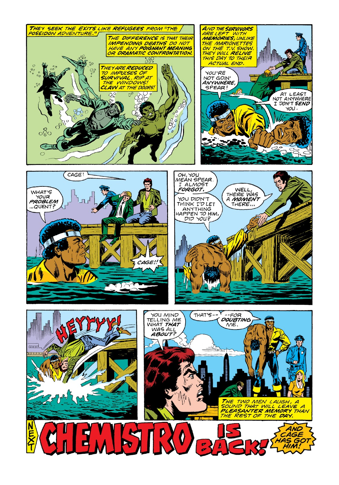 Read online Marvel Masterworks: Luke Cage, Power Man comic -  Issue # TPB 3 (Part 1) - 80