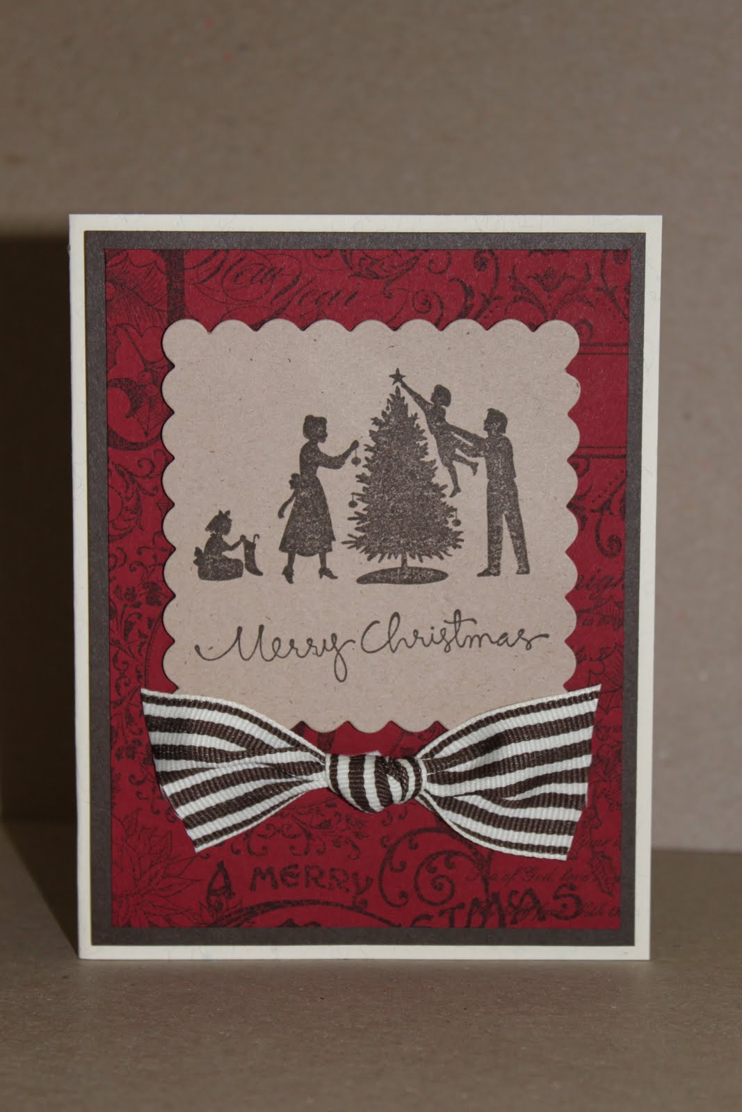 Just Julie B's Stampin' Space: MANY Christmas Card Choices
