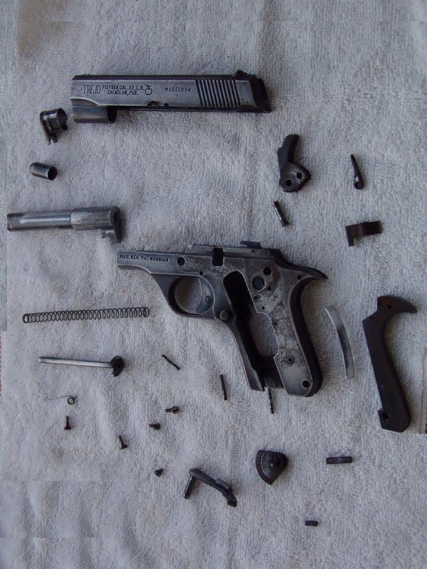 pistola trejo mod 1 2 y 3 armas de fuego