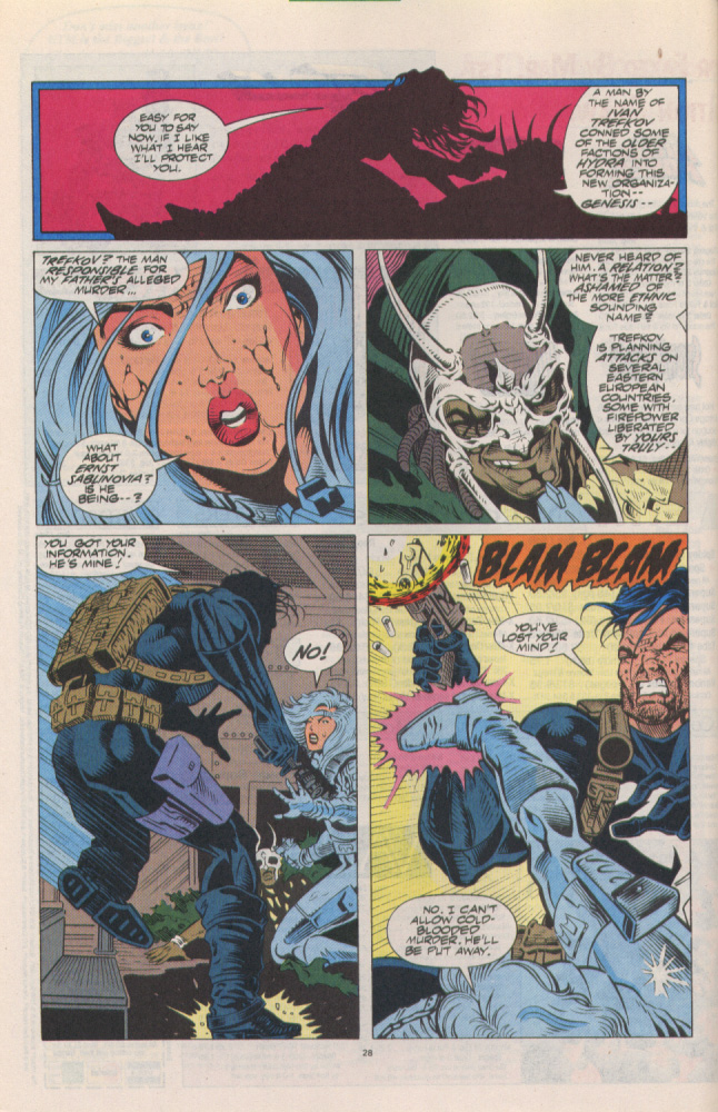 Read online Silver Sable and the Wild Pack comic -  Issue #10 - 21