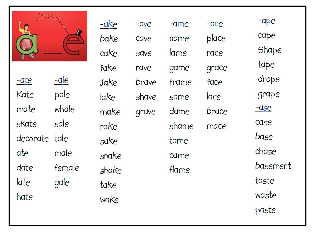 5 letter words ending in es the bd class october 2010 25974 | 2010 Letterland 1