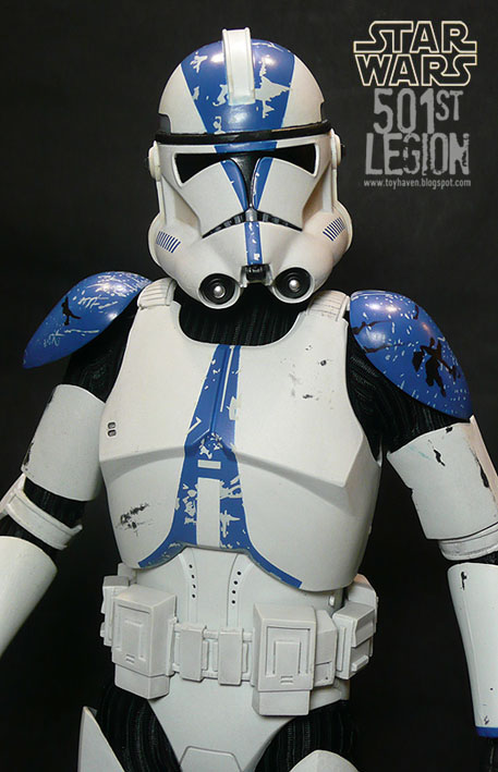 Toyhaven Sideshow 501st Legion Vader S Fist Clone Trooper Review 1