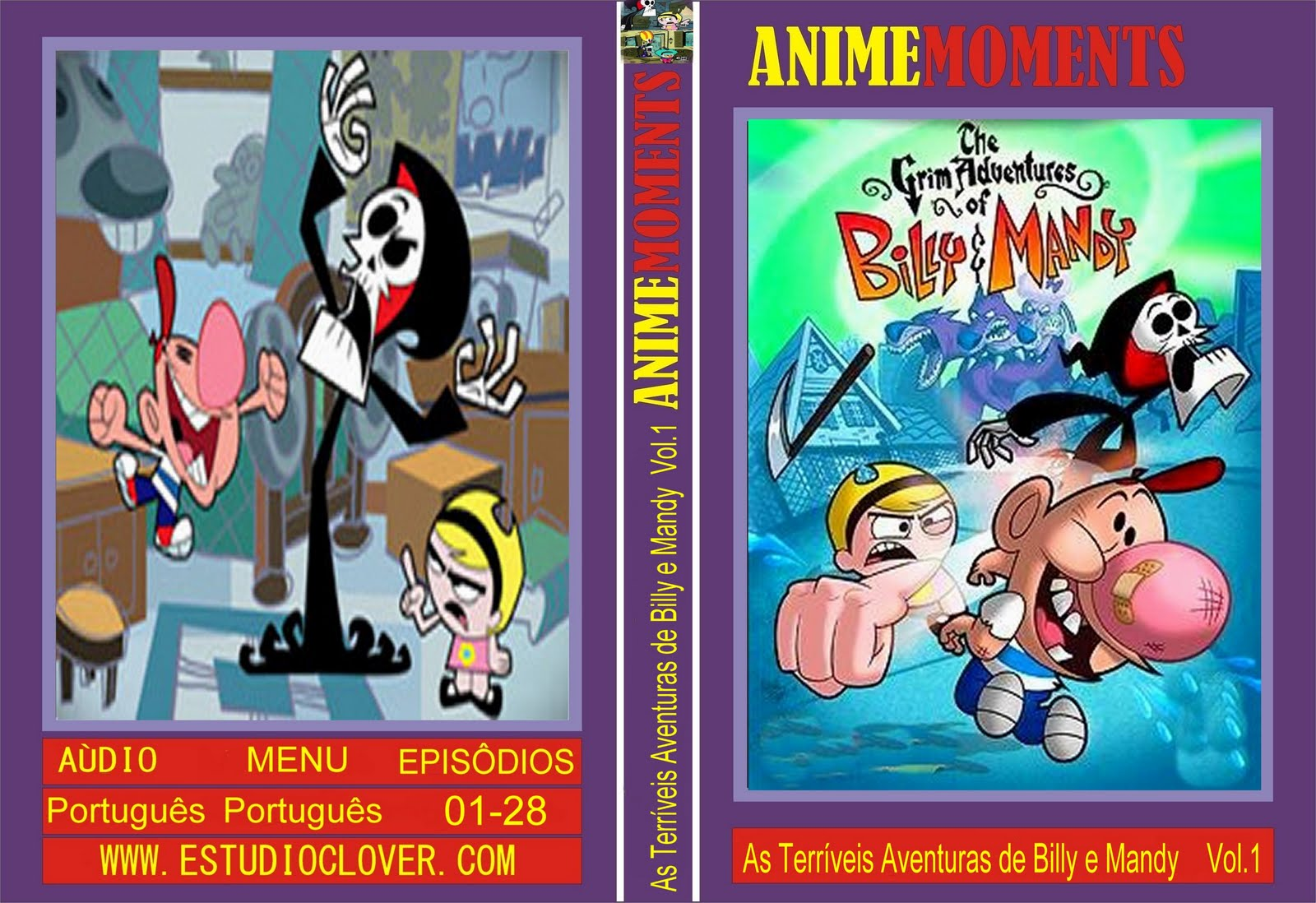 as terriveis aventuras de billy e mandy 1 temporada