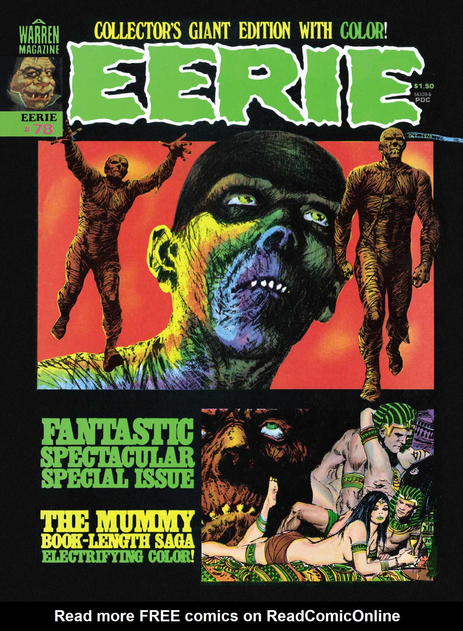 Read online Eerie Archives comic -  Issue # TPB 16 - 174