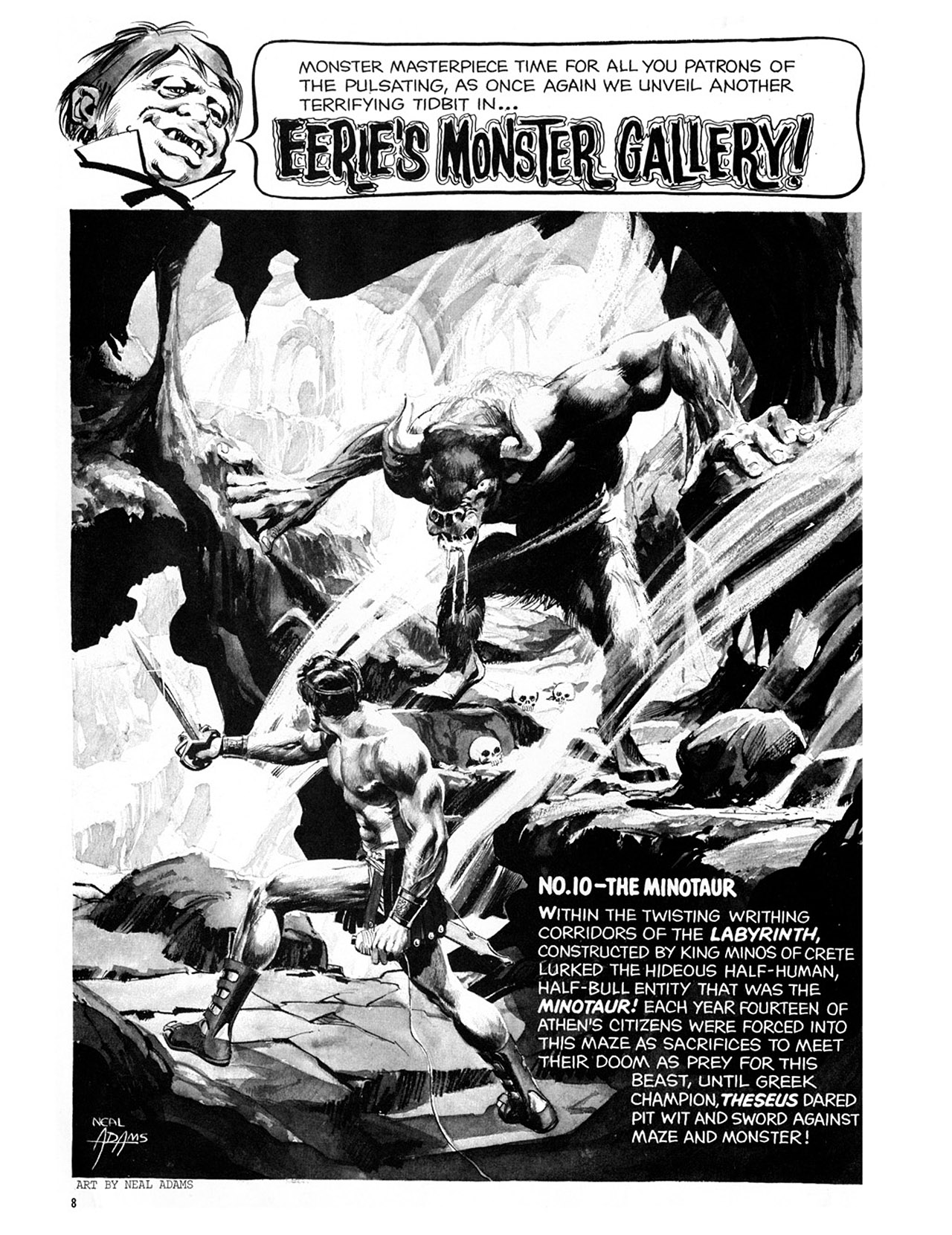 Read online Eerie Archives comic -  Issue # TPB 3 - 9