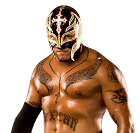 Rey Mysterio Chest Tattoo