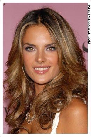 LOLA: Adriana lima hair highlights