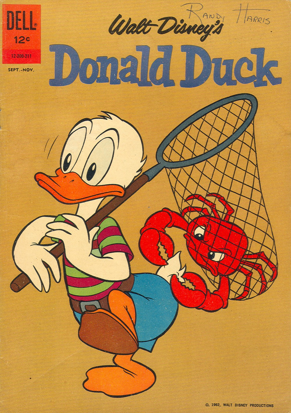 Walt Disney's Donald Duck (1952) issue 84 - Page 1