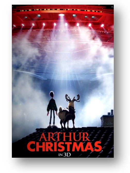 Arthur Christmas Poster.Marketsaw 3d Movies Gaming And Technology Promo Posters