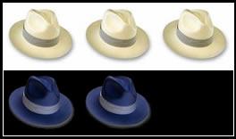 piuttosto carino vendita calda 100% di alta qualità Tre Cappelli Bianchi E Due Neri | La Soluzione - Matem@ticaMente