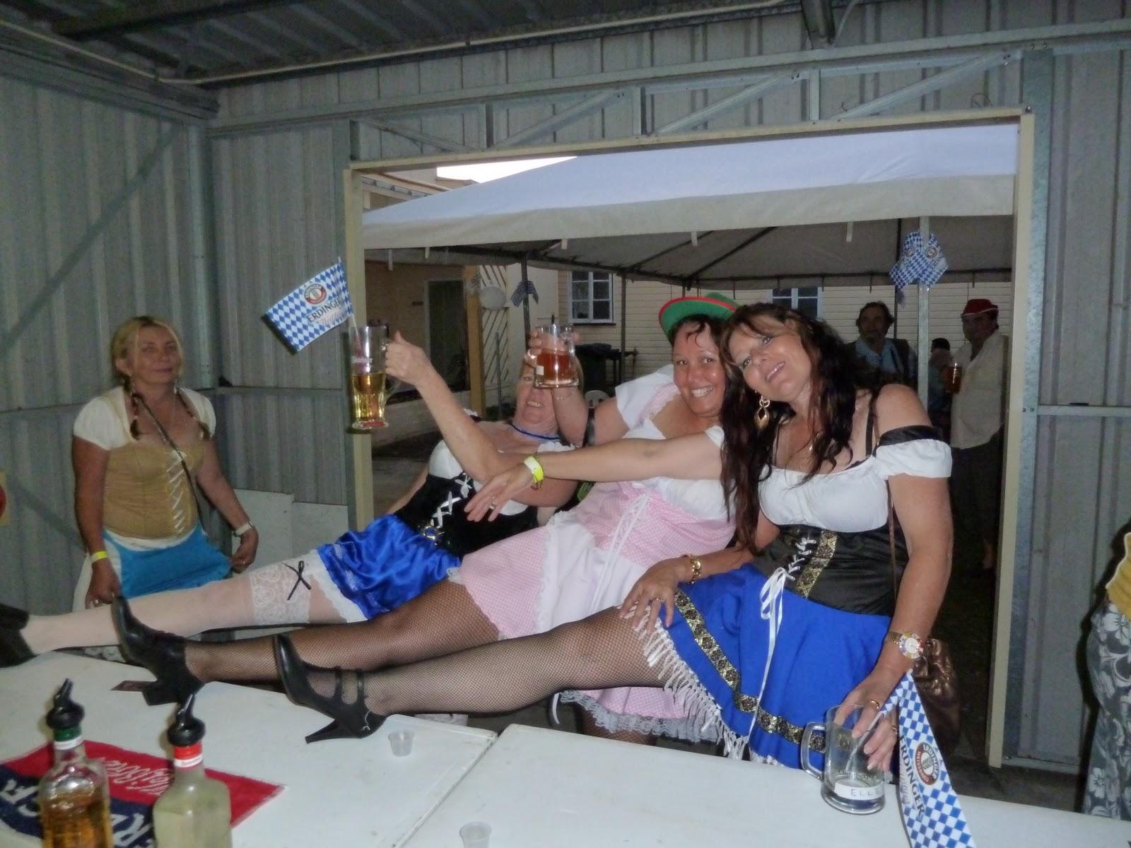 Oktoberfest Betrunken