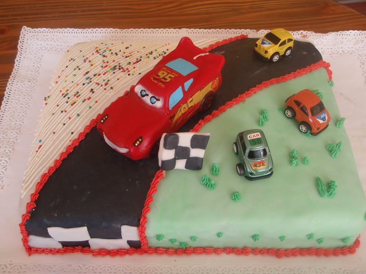 Tortas Infantiles Cars