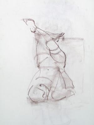 Erin Meads: 5-Minute Gesture Drawings, April - June 2009