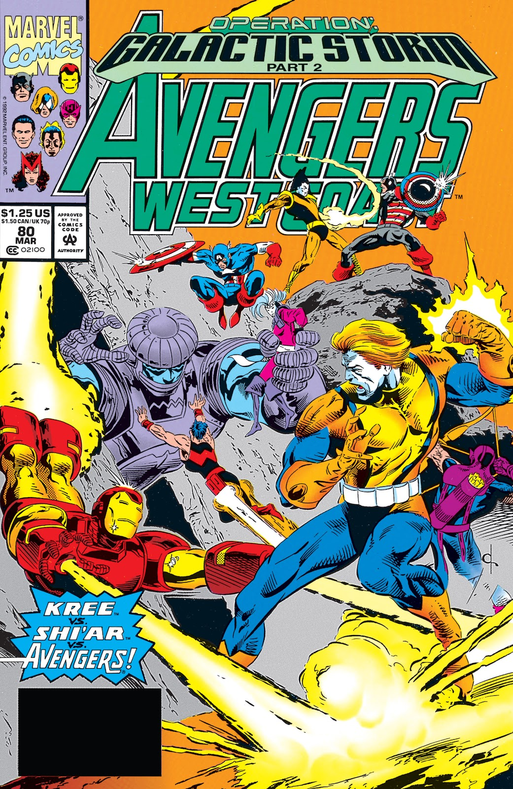 Avengers West Coast (1989) issue 80 - Page 1