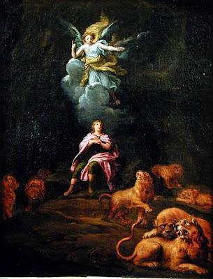 Daniel dans la fosse aux lions François verdier (1651-1730) peinture français