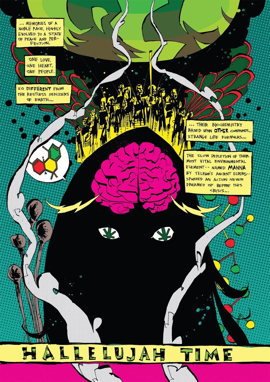 Read online Marijuanaman comic -  Issue # Full - 10