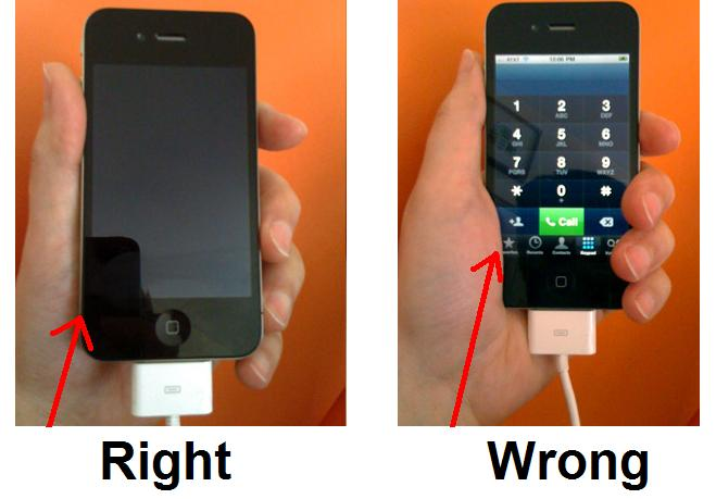 how to prevent iphone 4 reception problems