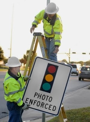 Cities Removing Red Light Camera Locations