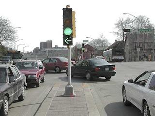 left turn arrow green