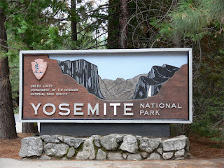 Yosemite National Park Sign