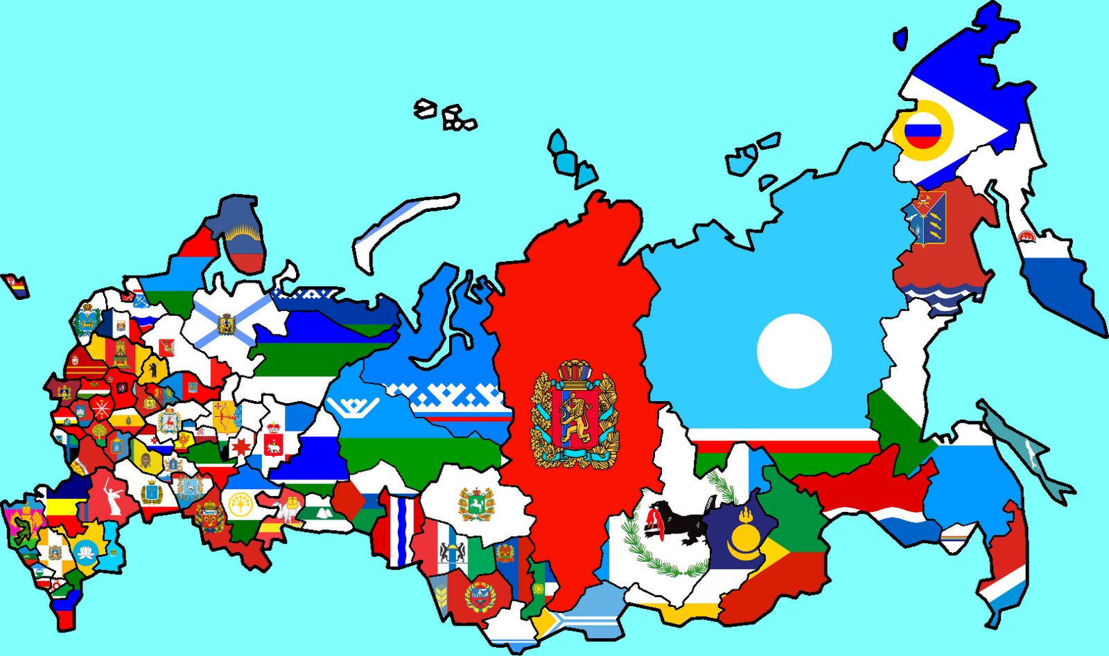 Russia Flags Maps Russian 9