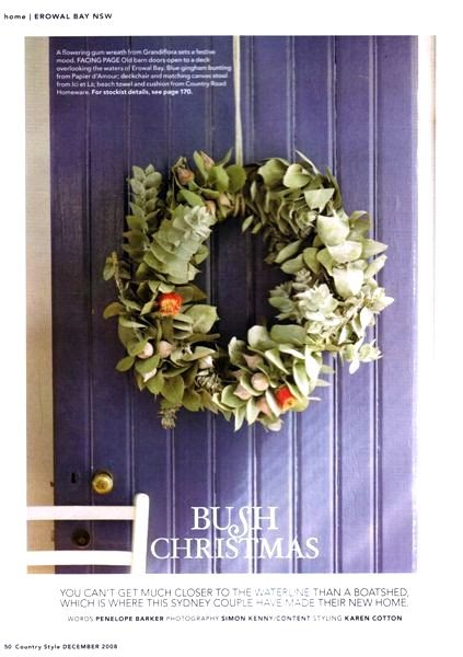 Absolutely Beautiful Things Christmas Wreaths Australian