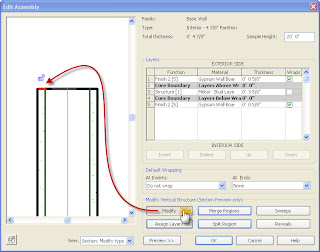 how to change wall height in revit