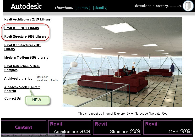 Revit autodesk library