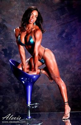 Alexis Ellis - muscle women - women muscle
