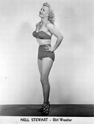 Nell Stewart - pro wrestling - wrestling women