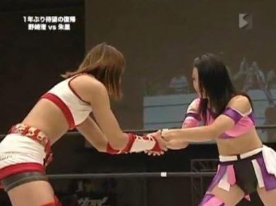 Nagisa Nozaki - Shuri - wrestling