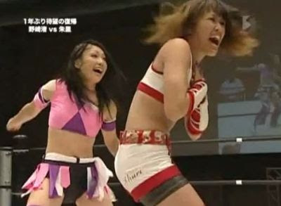 Nagisa Nozaki - Shuri - wrestling women