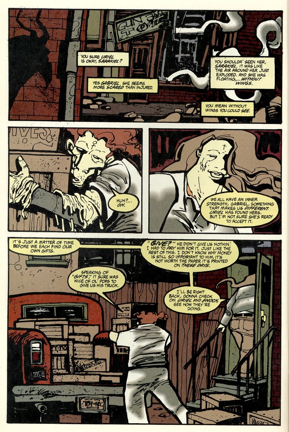 Read online Ted McKeever's Metropol comic -  Issue #11 - 8