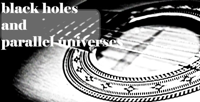 Black Holes and Parallel Universes