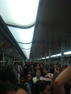 Memorable Journey to Land of Hong Kong:Ride in MTR @ Hong Kong
