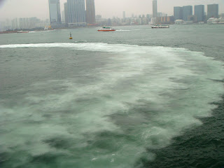 Vibrant Sea Line of Hong Kong:@ South China Sea