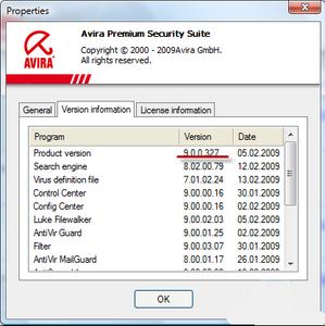 Free avira antivirus 2009 download.