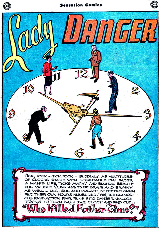 Read online Sensation (Mystery) Comics comic -  Issue #91 - 39