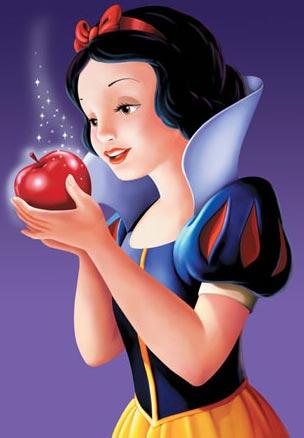 Bildergebnis für manzana roja blancanieves