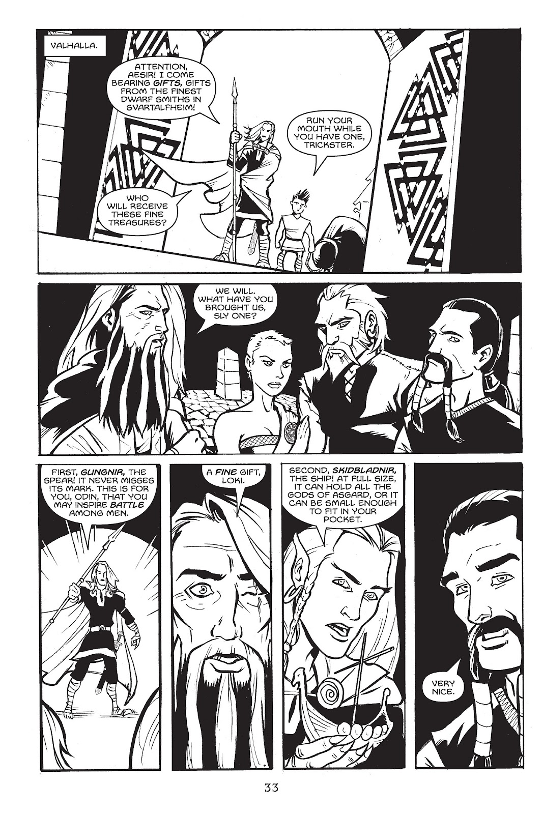 Read online Gods of Asgard comic -  Issue # TPB (Part 1) - 34