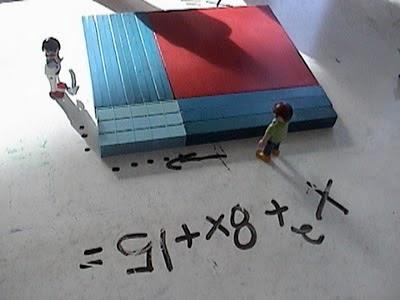 base ten blocks, algebra for toddlers