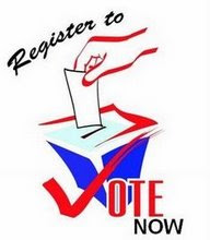 Register To Vote Now!