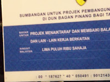 Outright Bribery & Corruption By BN In Bagan Pinang