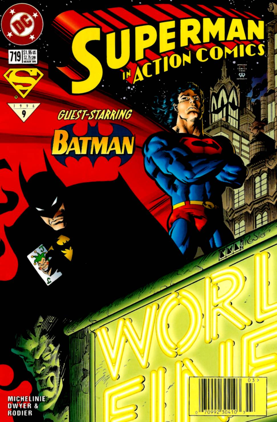 Action Comics (1938) 719 Page 1