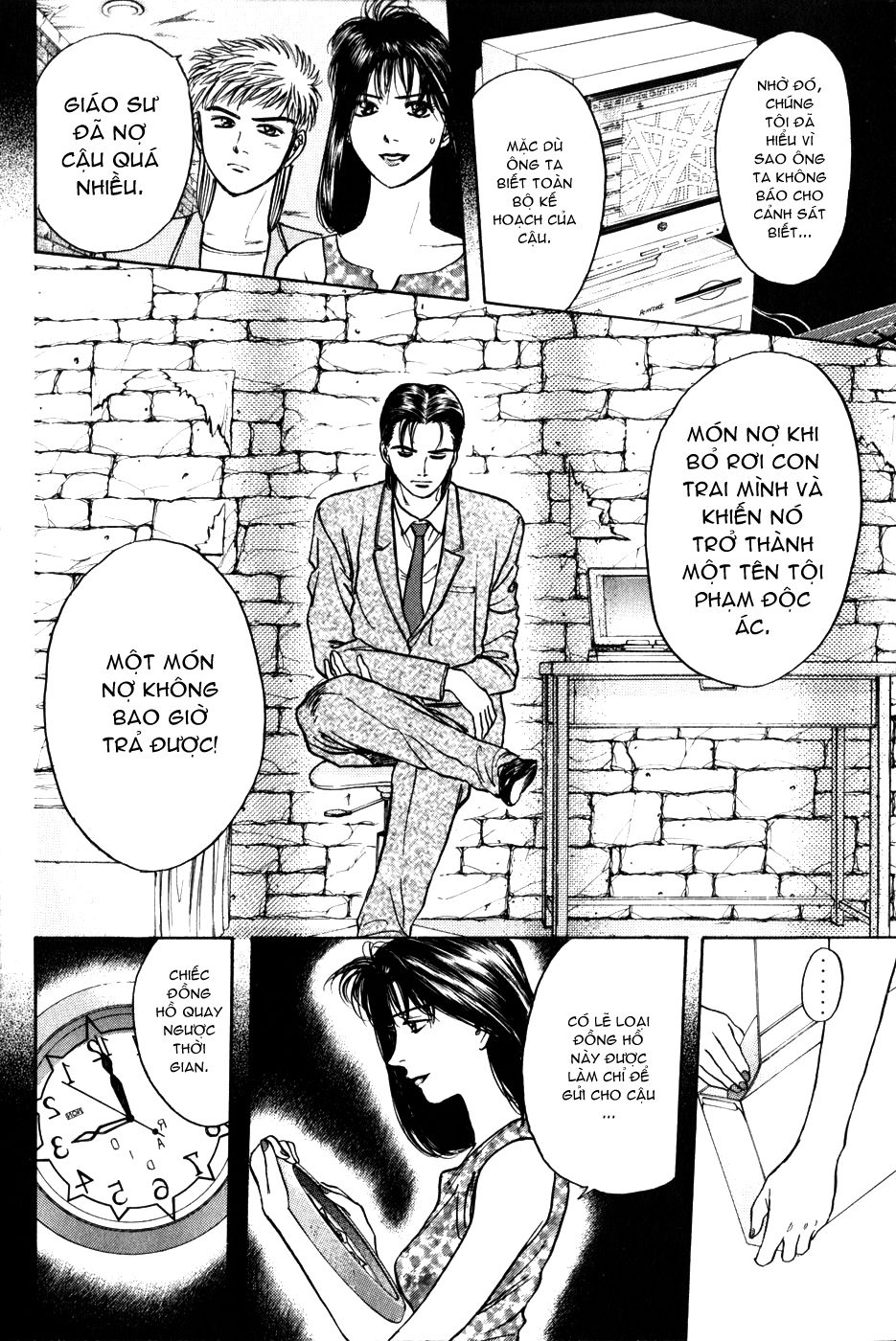 Psychometrer Eiji chapter 25 trang 18
