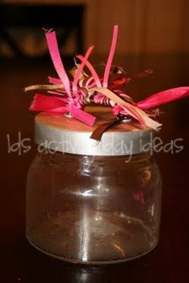 Lds Activity Day Ideas Journal Jars