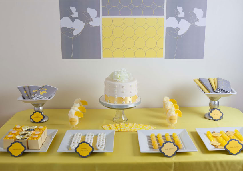 Yellow And Grey Wedding Decor Kate Whelan Events Kate Whelan Events