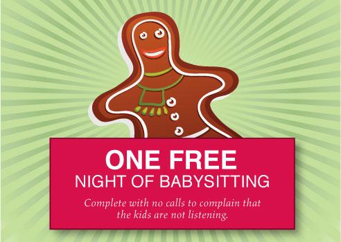 free babysitting coupon template - babysitting pass