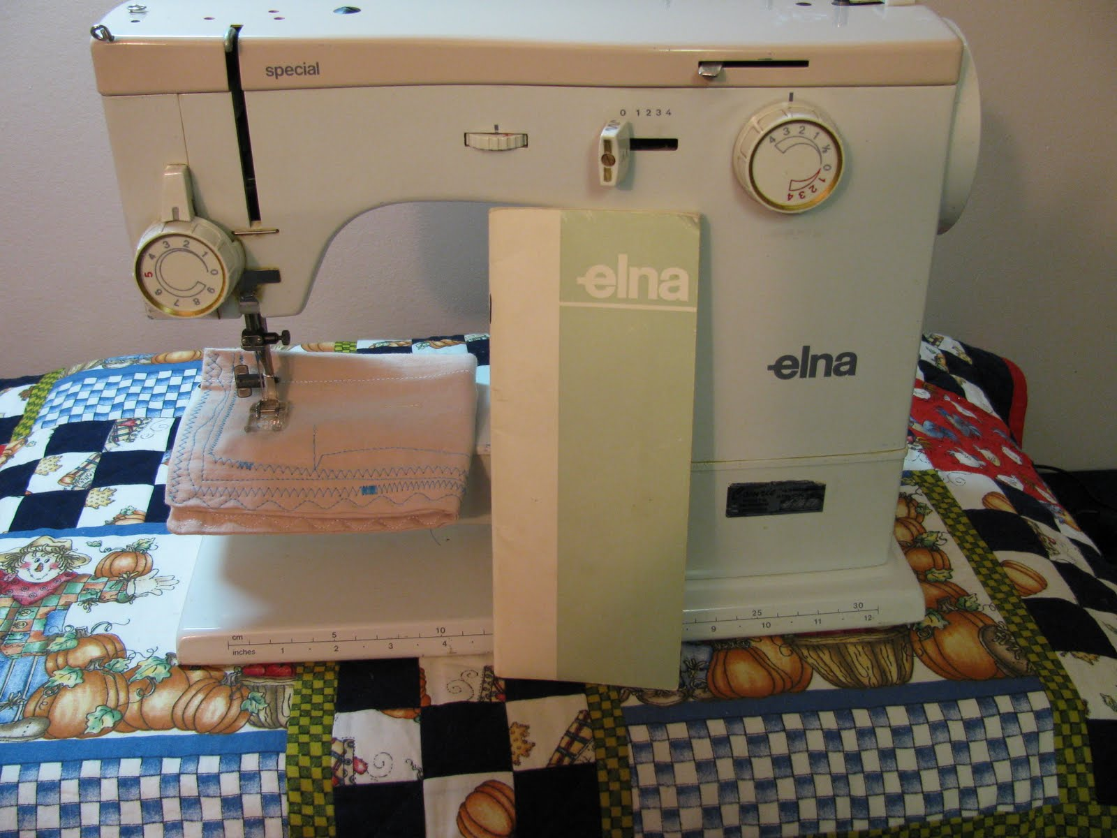 Elna Special Manual. I published the manual for this wonderful sewing  machine ...